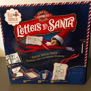 Elf On The Shelf Letters to Santa Kit New